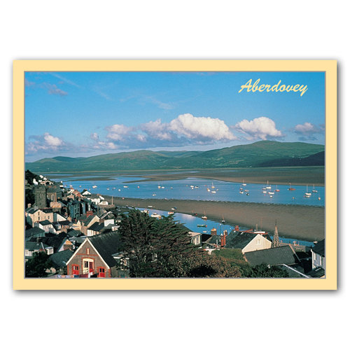 Aberdovey Dovey Estuary - Sold in pack (100 postcards)