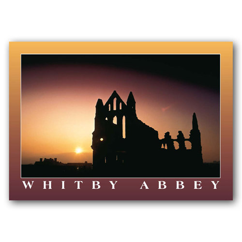 Whitby Abbey - Sold in pack (100 postcards)