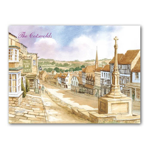 Burford Watercolour - Sold in pack (100 postcards)