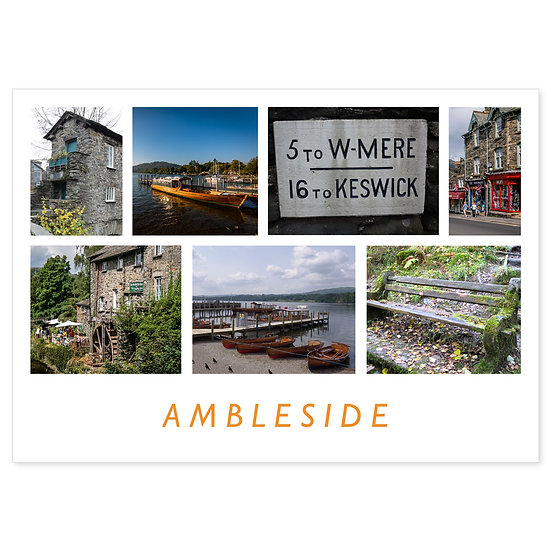 Ambleside Comp - Sold in pack (100 postcards)
