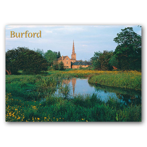 Burford - Sold in pack (100 postcards)