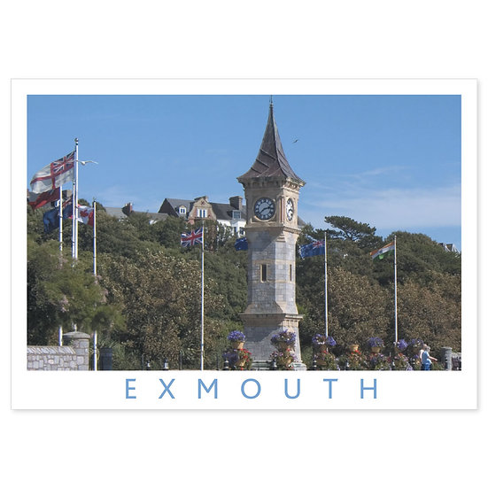 Exmouth Esplanade - Sold in pack (100 postcards)