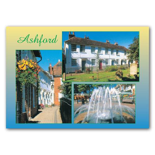 Ashford - Sold in pack (100 postcards)
