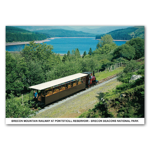 Brecon Mountain Railway - Sold in pack (100 postcards)