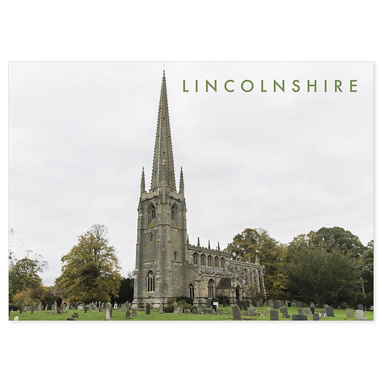 Lincolnshire Historic - Sold in pack (100 postcards)
