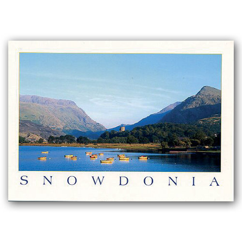 Snowdonia - Sold in pack (100 postcards)