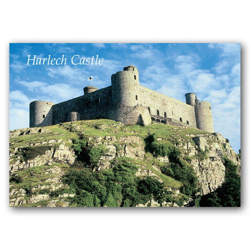 Harlech Castle - Sold in pack (100 postcards)