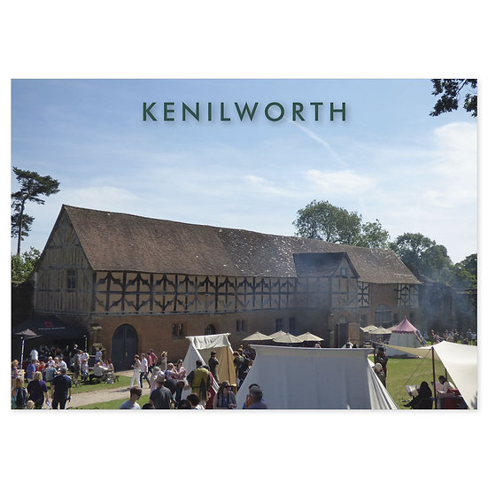 Kenilworth - Sold in pack (100 postcards)