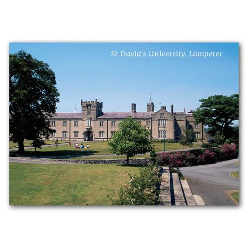 Lampeter St Davids University - Sold in pack (100 postcards)