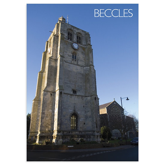 Beccles Church - Sold in pack (100 postcards)