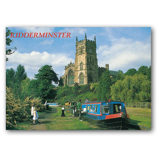 Kidderminster - Sold in pack (100 postcards)