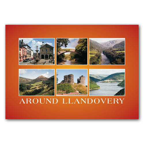 Llandovery Scenes - Sold in pack (100 postcards)