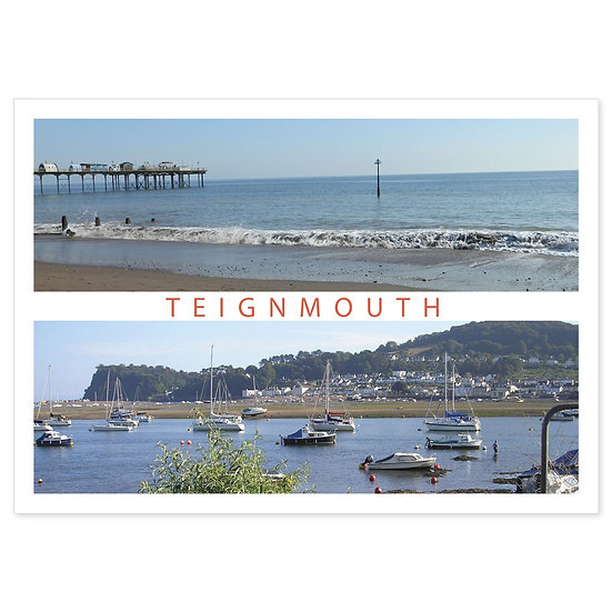 Teignmouth Compilation - Sold in pack (100 postcards)