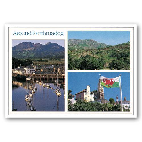 Porthmadog Around - Sold in pack (100 postcards)