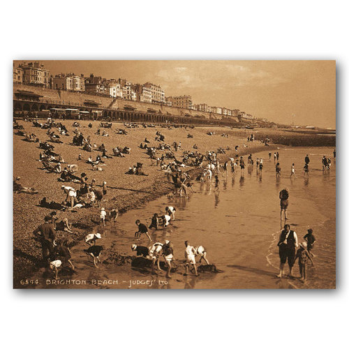 Brighton Beach - Sold in pack (100 postcards)