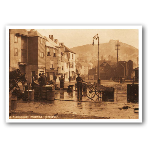 Hastings Fishmarket - Sold in pack (100 postcards)