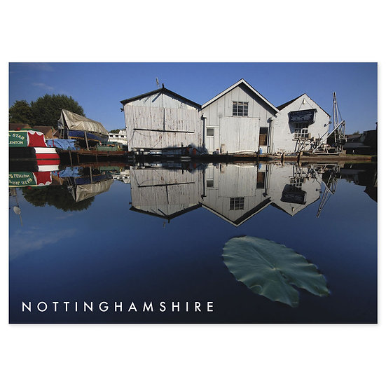 Nottingham Canal - Sold in pack (100 postcards)