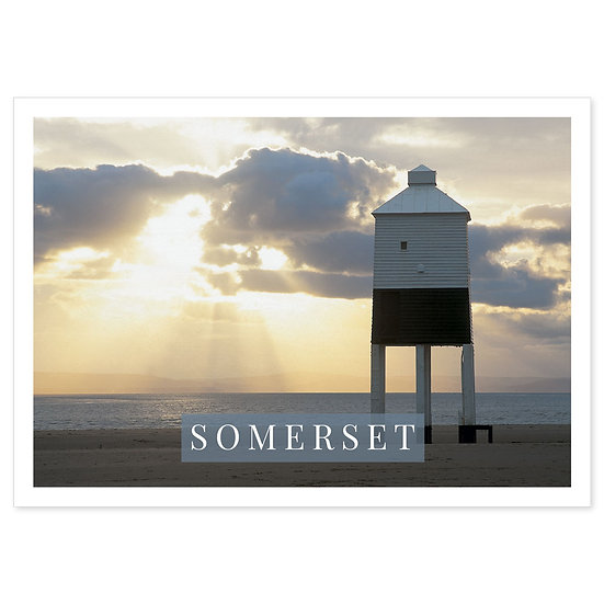 Somerset Coast - Sold in pack (100 postcards)