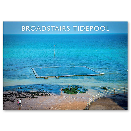 Broadstairs Tidepool - Sold in pack (100 postcards)