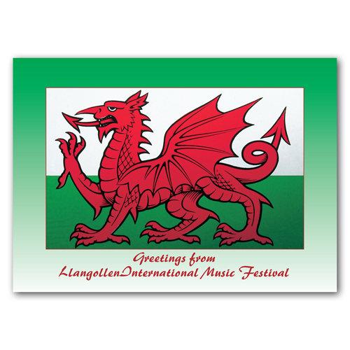 Llangollwn International Music - Sold in pack (100 postcards)