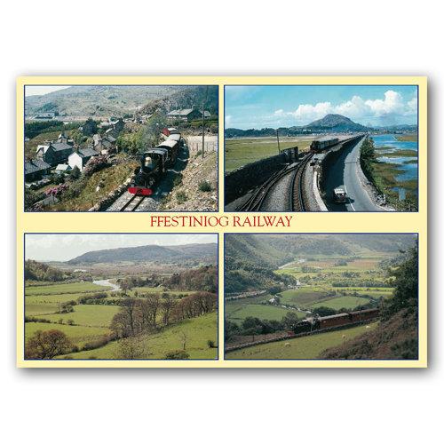 Ffestiniog Railway - Sold in pack (100 postcards)