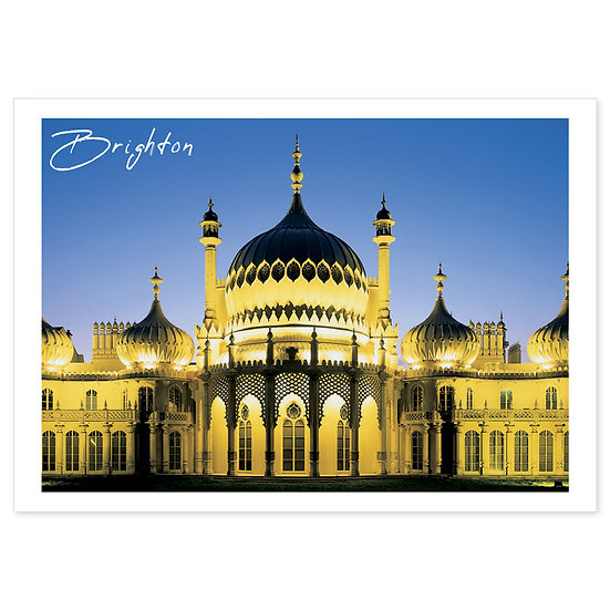 Brighton Pavillion Warhol Style - Sold in pack (100 postcards)