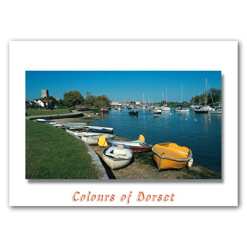 Dorset Just Christchurch Priory - Sold in pack (100 postcards)