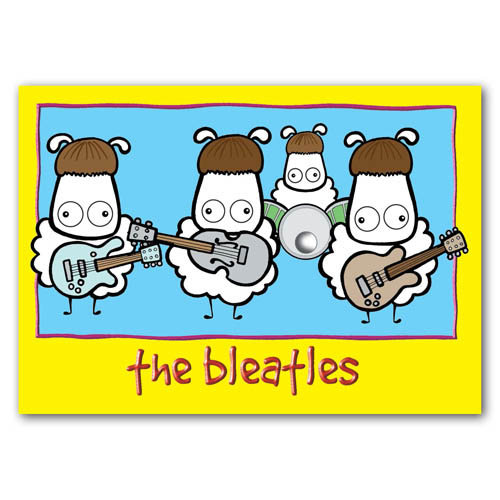 Baa - The Bleatles - Sold in pack (100 postcards)