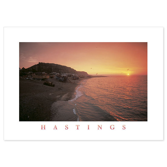 Hastings The Stade - Sold in pack (100 postcards)
