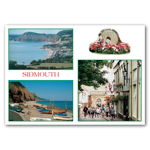 Sidmouth - Sold in pack (100 postcards)