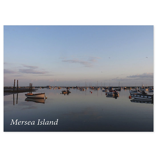 Mersea Island - Sold in pack (100 postcards)