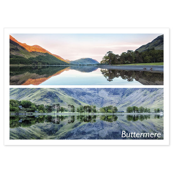 Buttermere Panoramic Comp - Sold in pack (100 postcards)