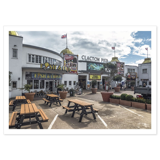 Clacton on Sea - Sold in pack (100 postcards)