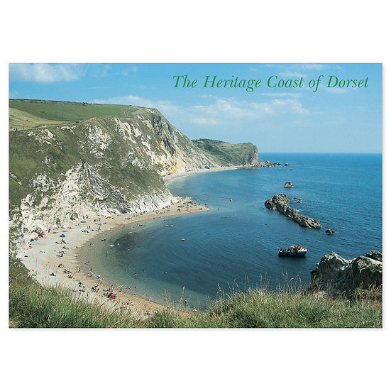 Dorset Heritage Coast - Sold in pack (100 postcards)