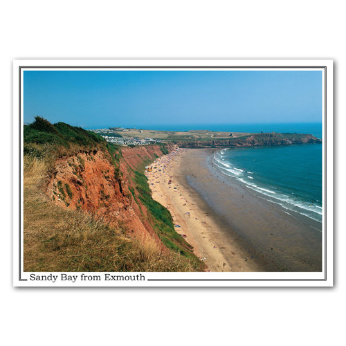 Exmouth Sandy Bay - Sold in pack (100 postcards)