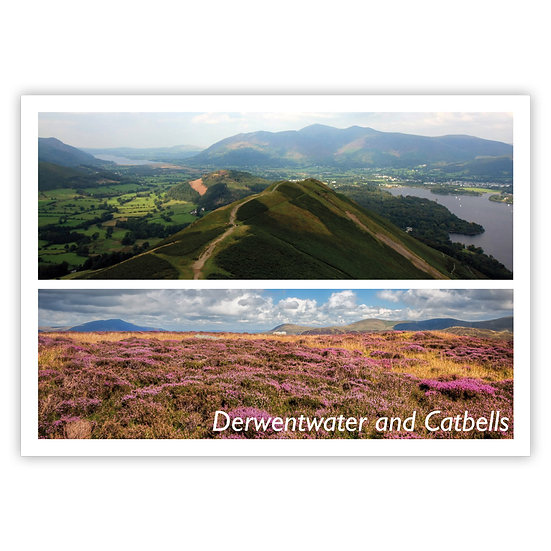 Derwentwater and Catbells - Sold in pack (100 postcards)