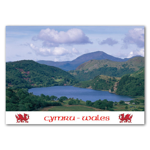 Wales Llyn Gwynant - Sold in pack (100 postcards)