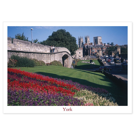 York City Walls & Minister - Sold in pack (100 postcards)
