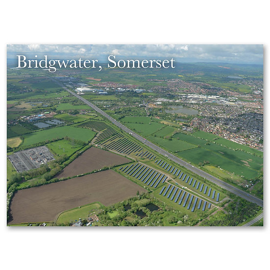 Bridgwater and the Quantock Hills - Sold in pack (100 postca