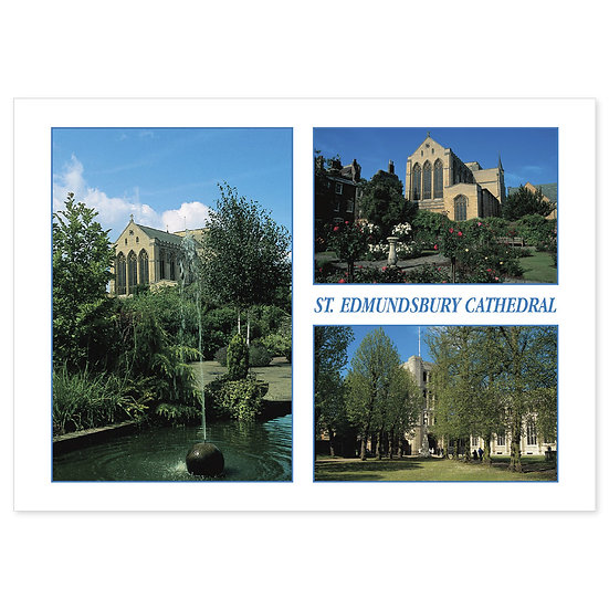 Bury St Edmunds Cathedral Comp - Sold in pack (100 postcards)