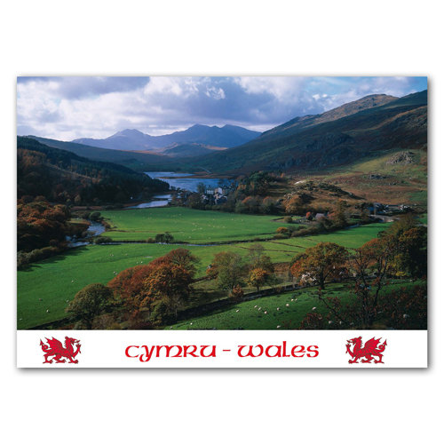 Wales Snowdon & Capel Curig - Sold in pack (100 postcards)