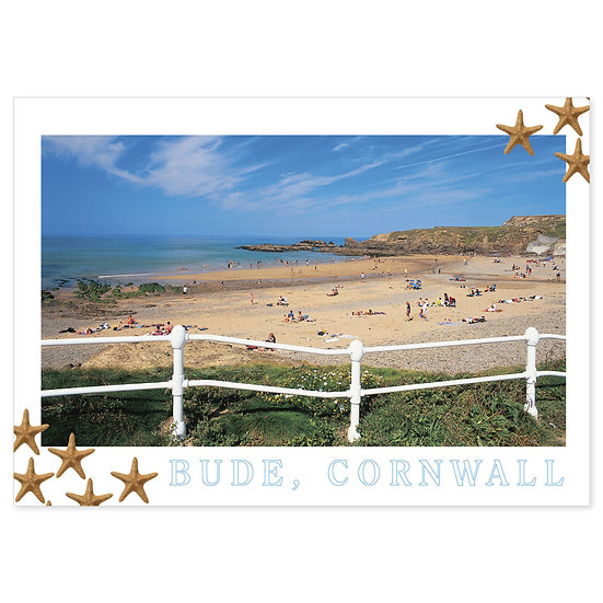Bude Cornwall - Sold in pack (100 postcards)