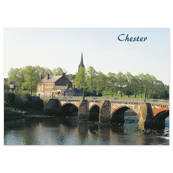 Chester Bridge - Sold in pack (100 postcards)