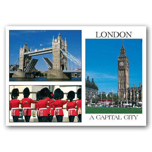 London Comp - Sold in pack (100 postcards)