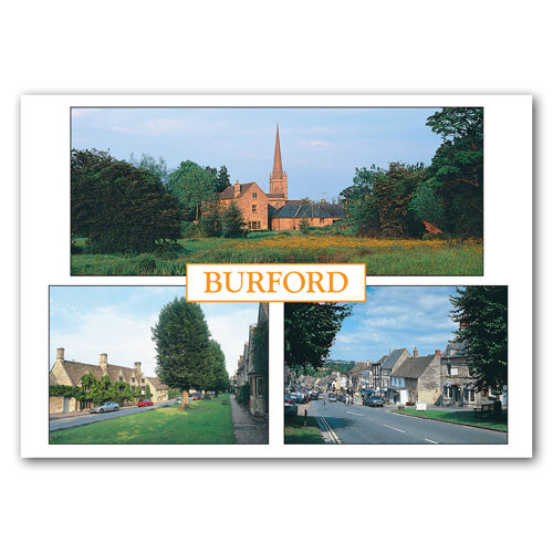 Burford Comp - Sold in pack (100 postcards)