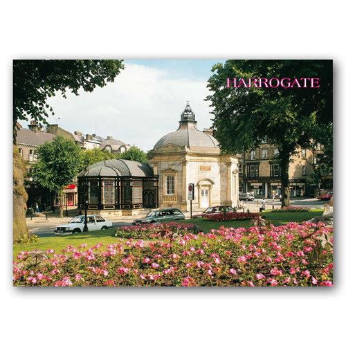 Harrogate Pump Room Museum - Sold in pack (100 postcards)