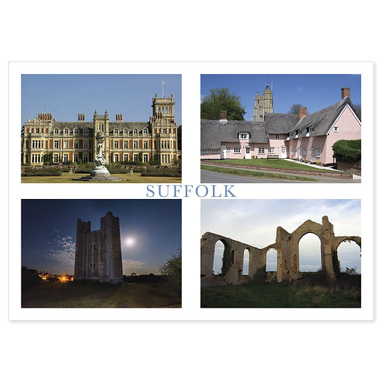Suffolk - Sold in pack (100 postcards)