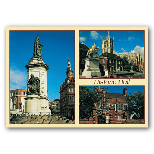Hull - Sold in pack (100 postcards)