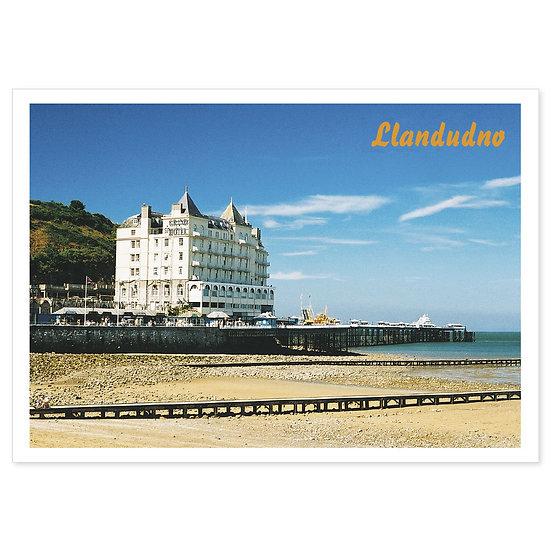 Llandudno Beach - Sold in pack (100 postcards)