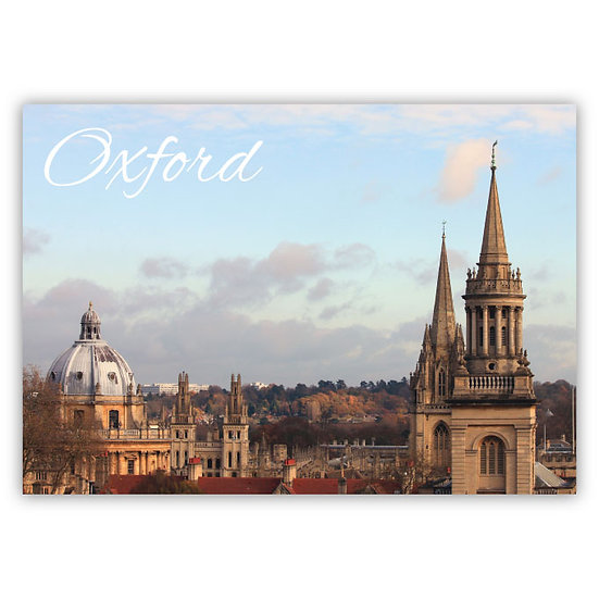 Oxford skyline - Sold in pack (100 postcards)